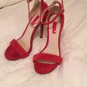 Topshop Red Heels